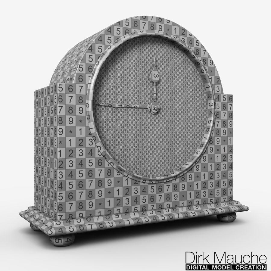 reloj de estante 02 royalty-free modelo 3d - Preview no. 4