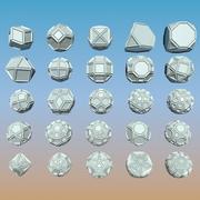 Pakiet kształtu geometrycznego 02 3d model