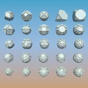Pakiet kształtu geometrycznego 09 3d model