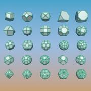 Geometric Shape Pack 14 3d model