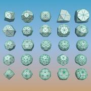 Geometric Shape Pack 15 3d model