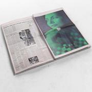 Financial Times öppet 3d model