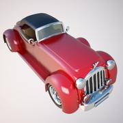 Carro antigo 3d model