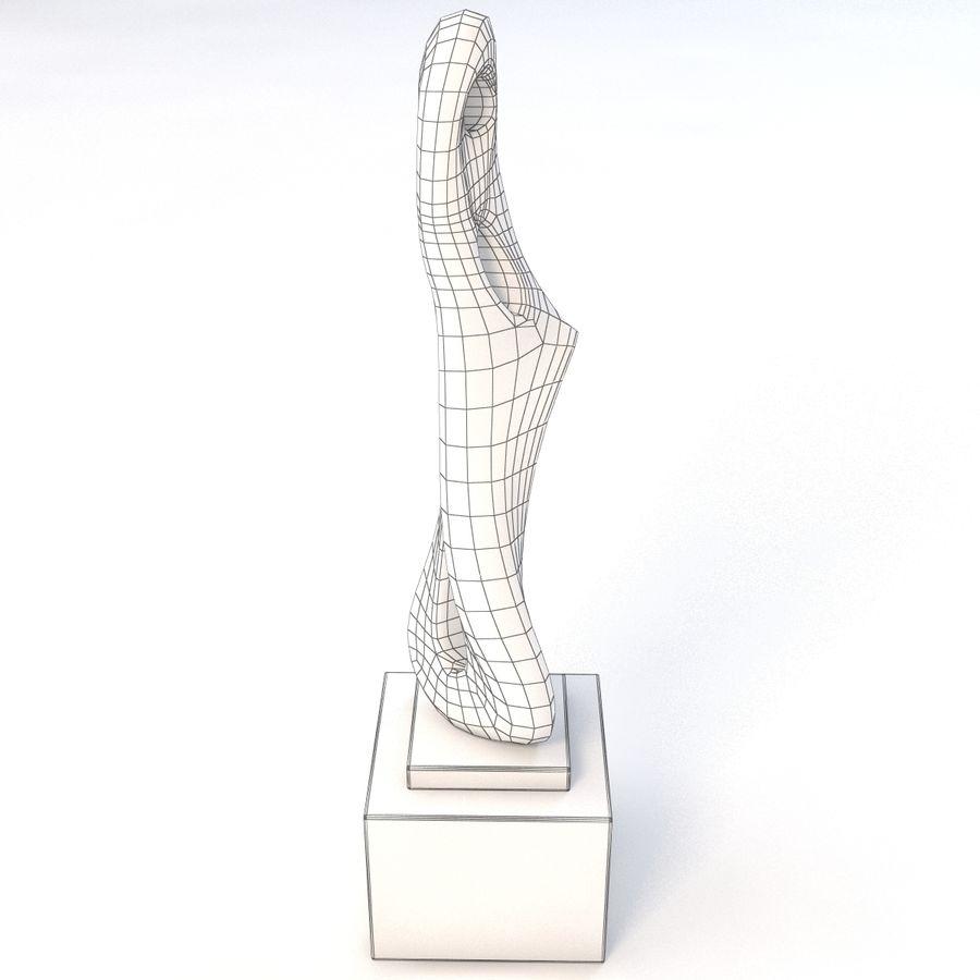Rzeźba z brązu 3 royalty-free 3d model - Preview no. 5