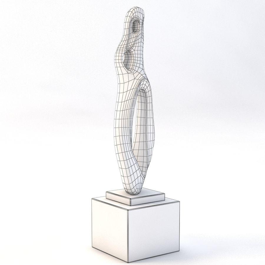 Rzeźba z brązu 3 royalty-free 3d model - Preview no. 3