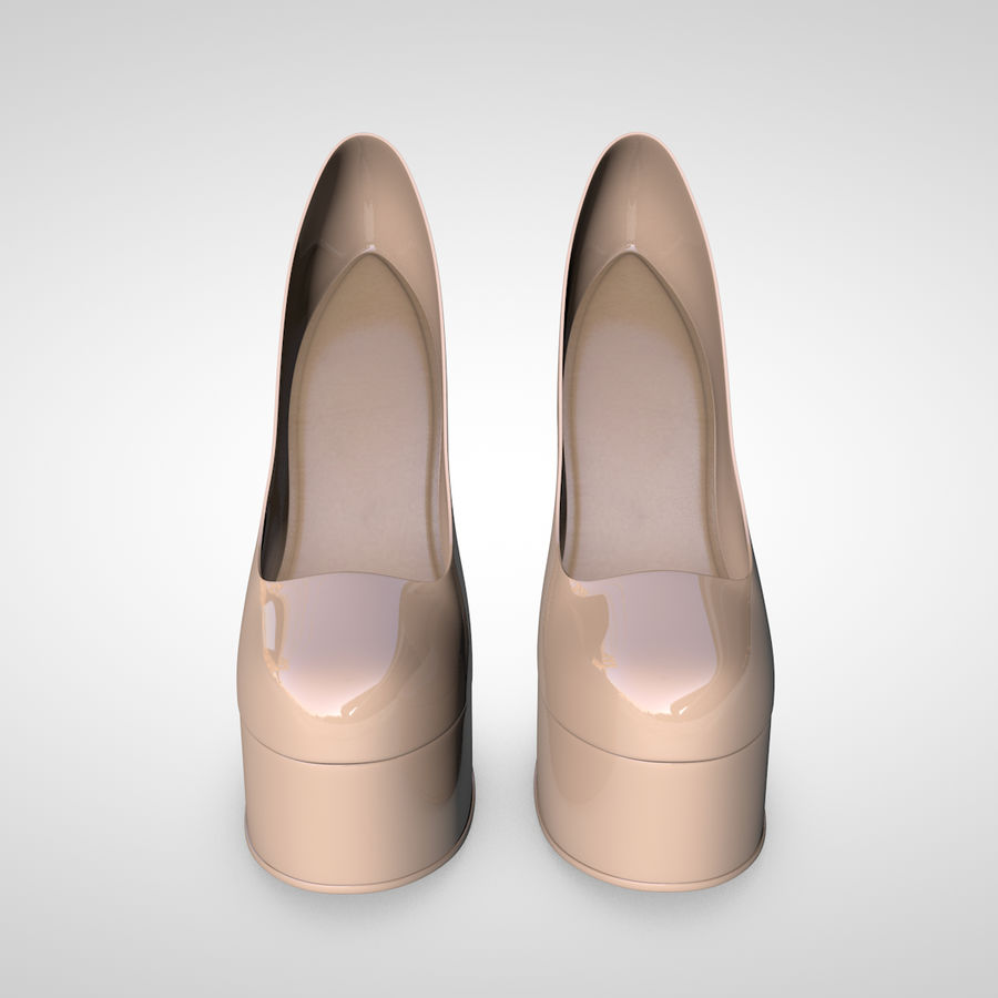 Tacones altos royalty-free modelo 3d - Preview no. 7