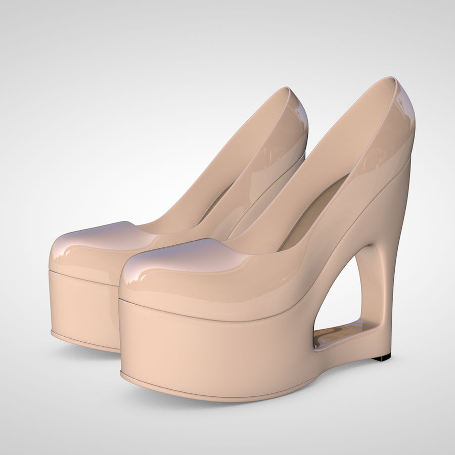 Tacones altos royalty-free modelo 3d - Preview no. 6