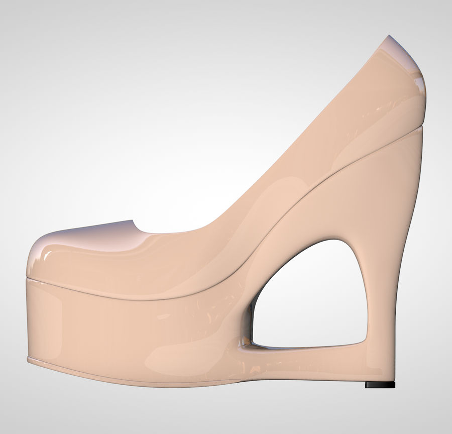 Tacones altos royalty-free modelo 3d - Preview no. 5