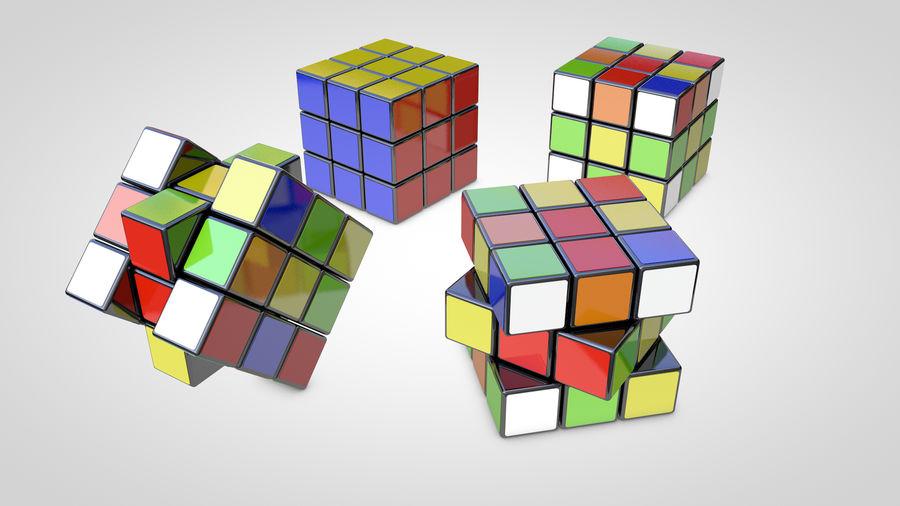 Magische kubus royalty-free 3d model - Preview no. 2