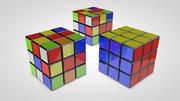 Magic Cube 3d model