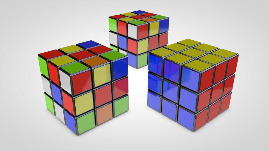 Magische kubus royalty-free 3d model - Preview no. 1