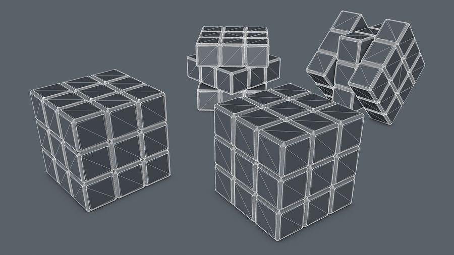 Magische kubus royalty-free 3d model - Preview no. 6