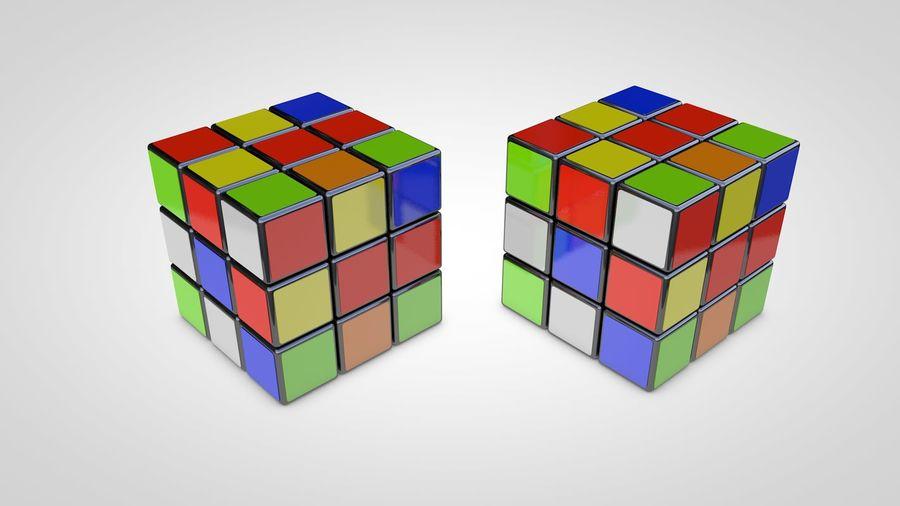 Magische kubus royalty-free 3d model - Preview no. 3