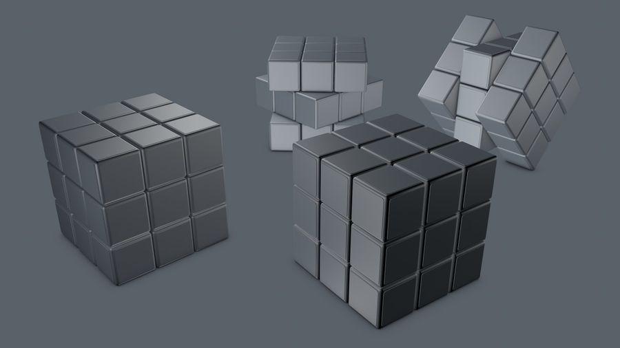 Magische kubus royalty-free 3d model - Preview no. 5