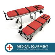 救急車ストレッチャー 3d model