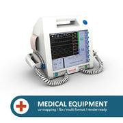 Clinical Defibrillator 3d model