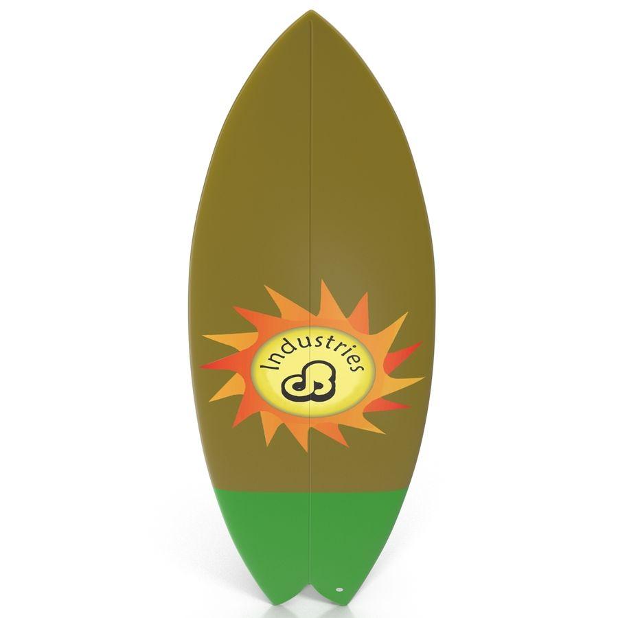 Surfboard Fish Modèle 3D royalty-free 3d model - Preview no. 4