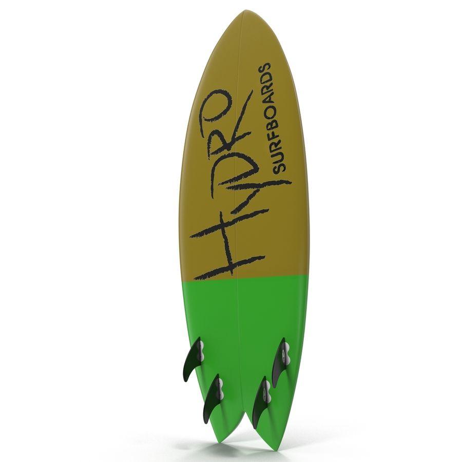 Surfboard Fish Modèle 3D royalty-free 3d model - Preview no. 2