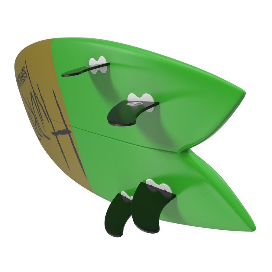 Surfboard Fish Modèle 3D royalty-free 3d model - Preview no. 9