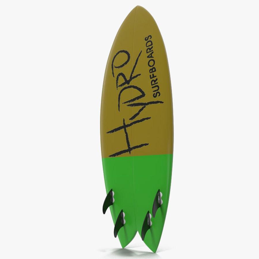 Surfboard Fish Modèle 3D royalty-free 3d model - Preview no. 1