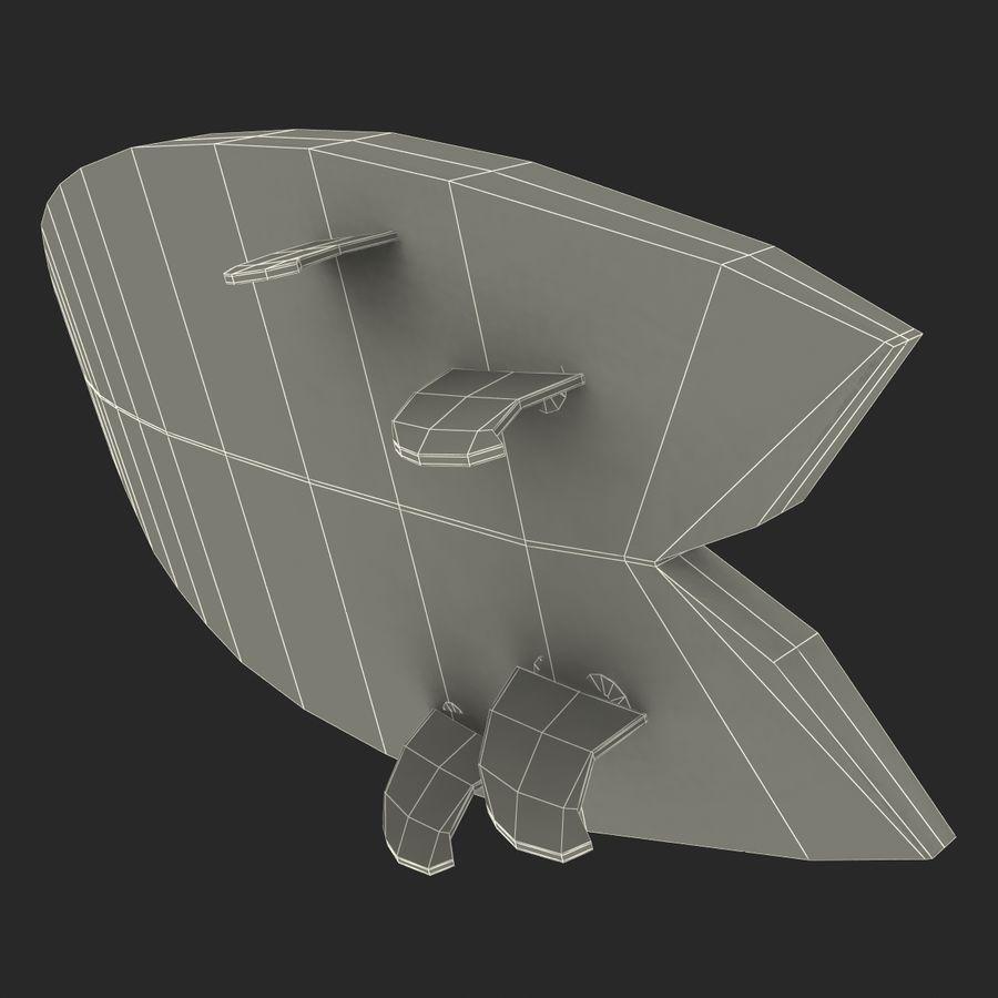 Surfboard Fish Modèle 3D royalty-free 3d model - Preview no. 22