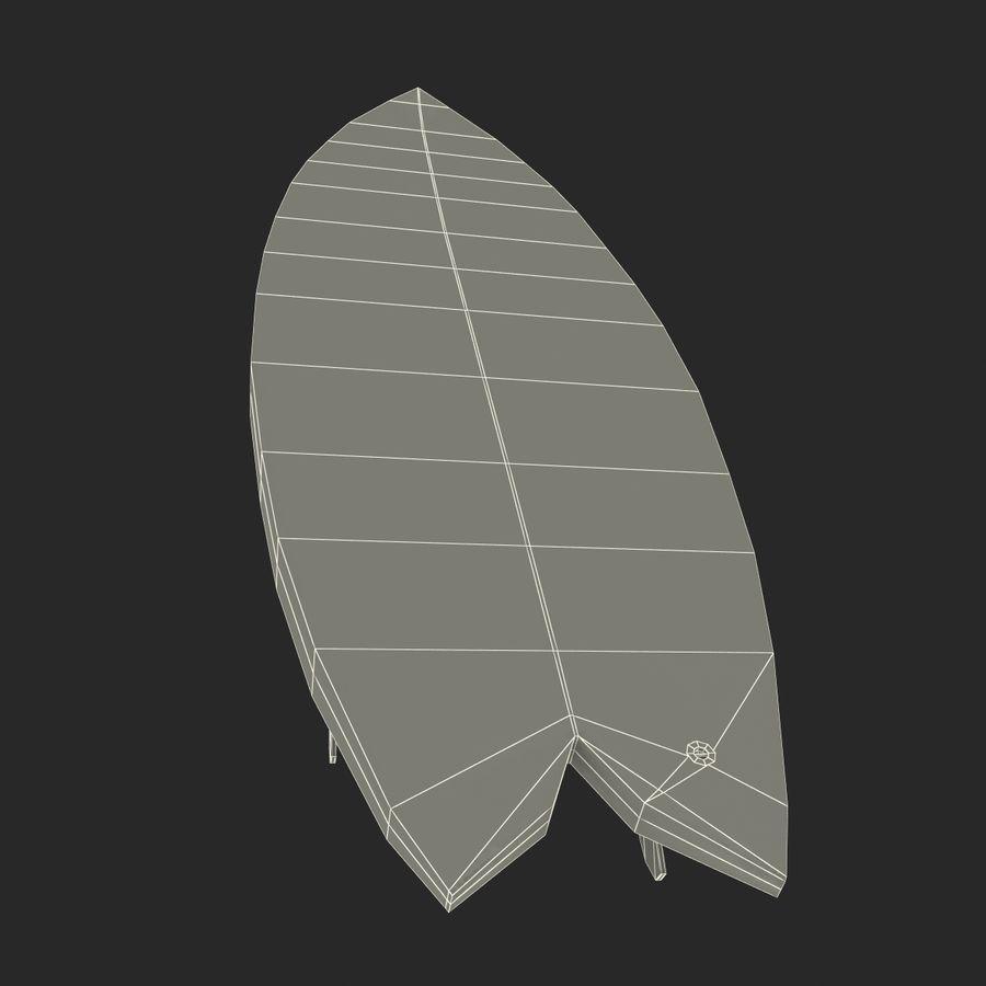 Surfboard Fish Modèle 3D royalty-free 3d model - Preview no. 21