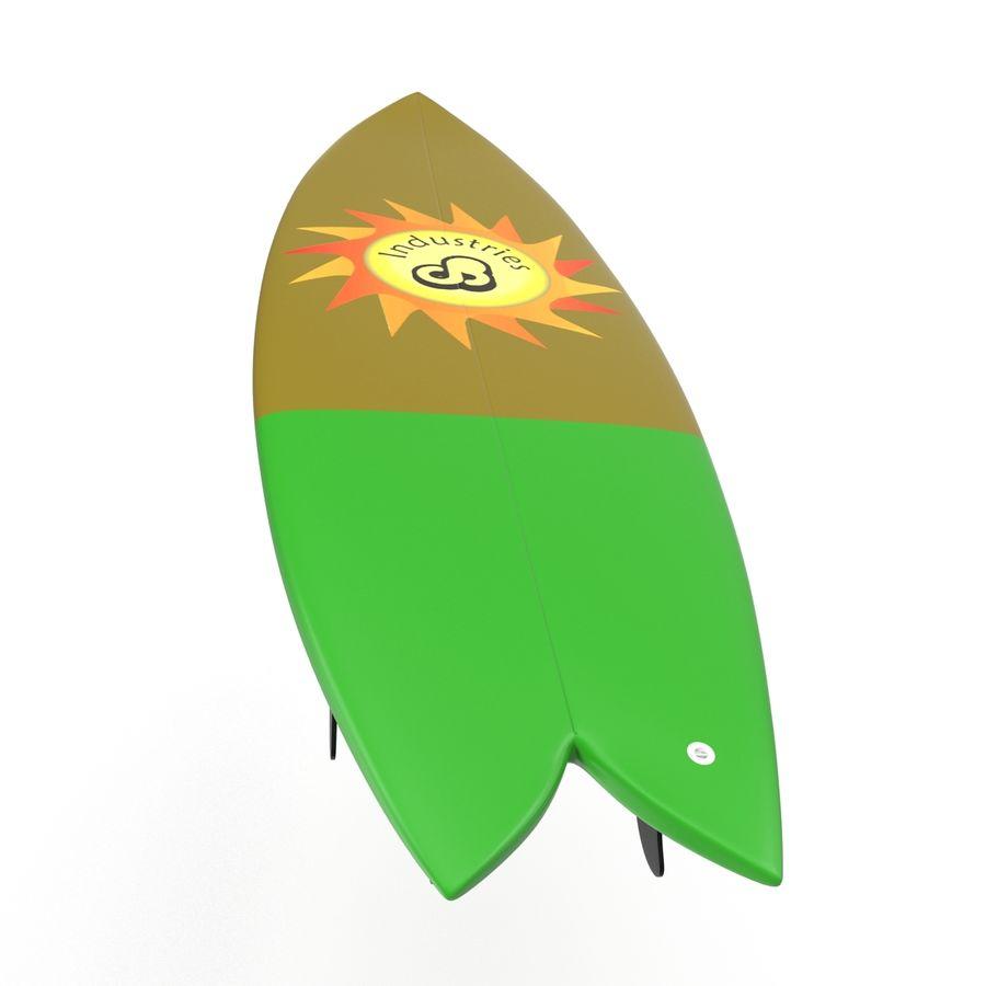Surfboard Fish Modèle 3D royalty-free 3d model - Preview no. 11