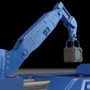 산업용 로봇 3d model