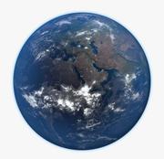 Planeten jorden 3d model