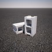 煤渣块 3d model