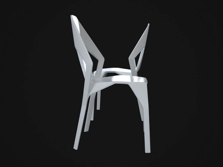 Amsterdam-Chair royalty-free 3d model - Preview no. 5