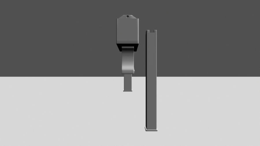 Mac 10 with Extras royalty-free 3d model - Preview no. 3