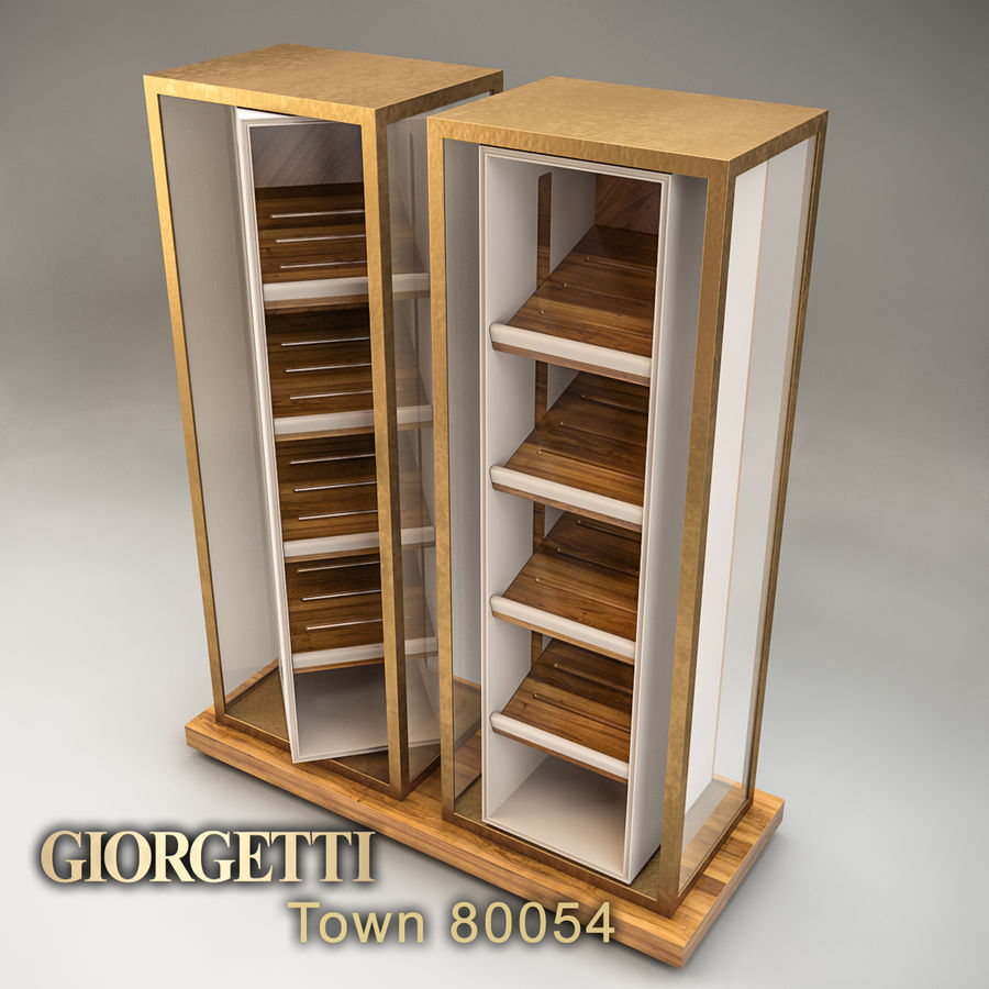 Stadt 80054 royalty-free 3d model - Preview no. 3