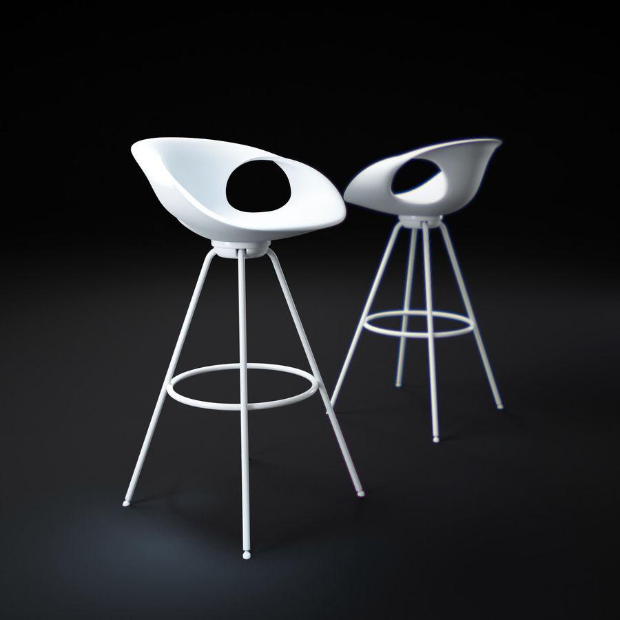 Stołek na krzesło royalty-free 3d model - Preview no. 1