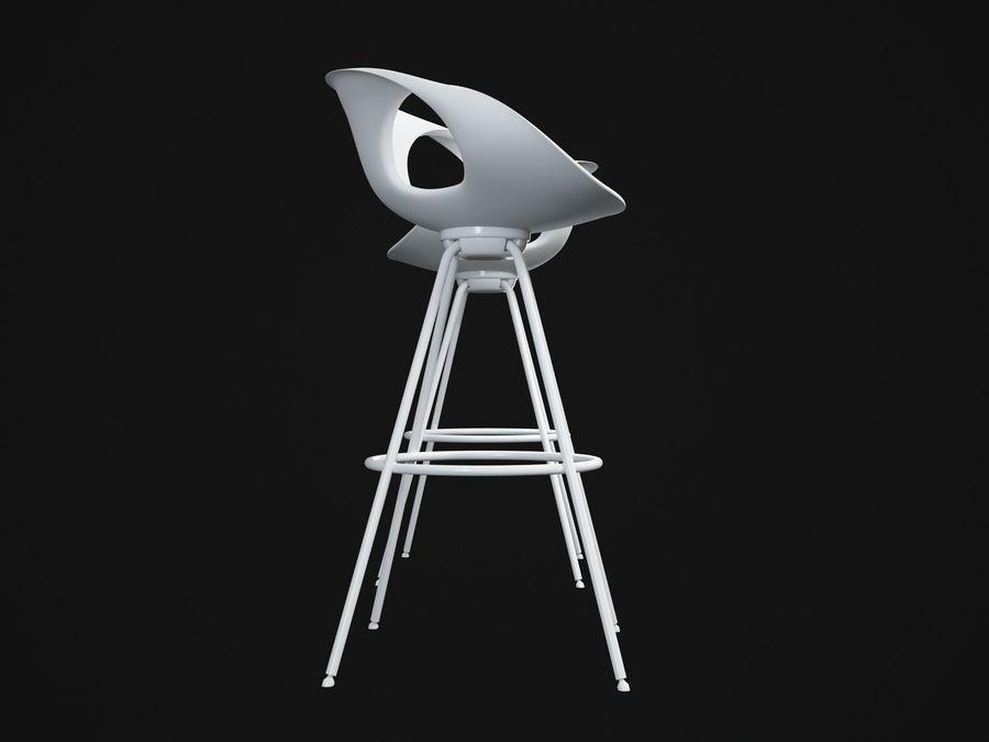 Stołek na krzesło royalty-free 3d model - Preview no. 5