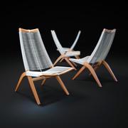Тканые-кресло 3d model