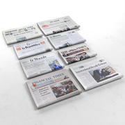 Raccolta di giornali 3d model