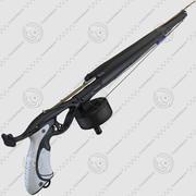 水中銃スキューバガン 3d model