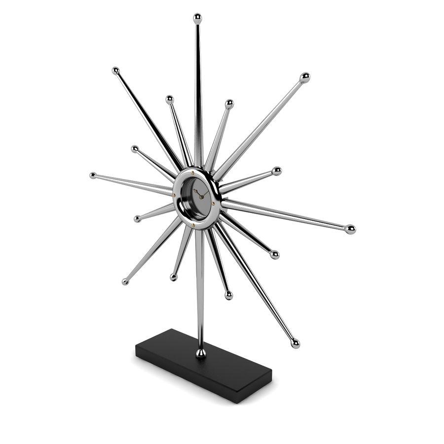 Reloj de escritorio estrella royalty-free modelo 3d - Preview no. 4