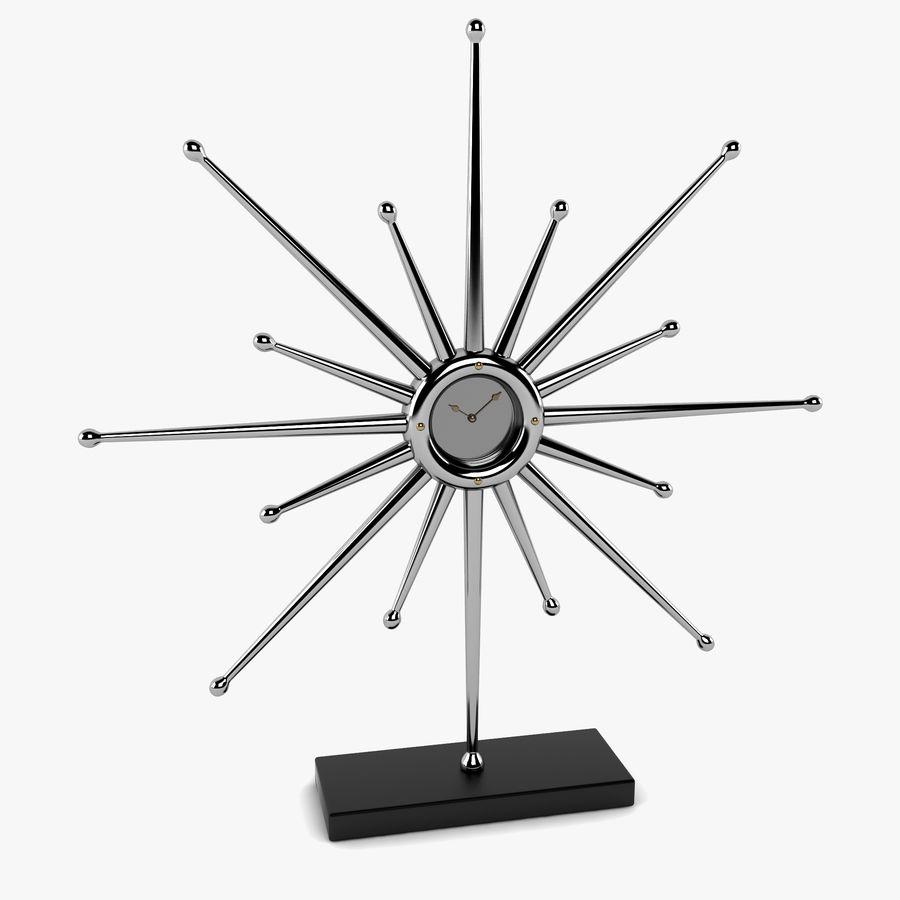 Reloj de escritorio estrella royalty-free modelo 3d - Preview no. 1