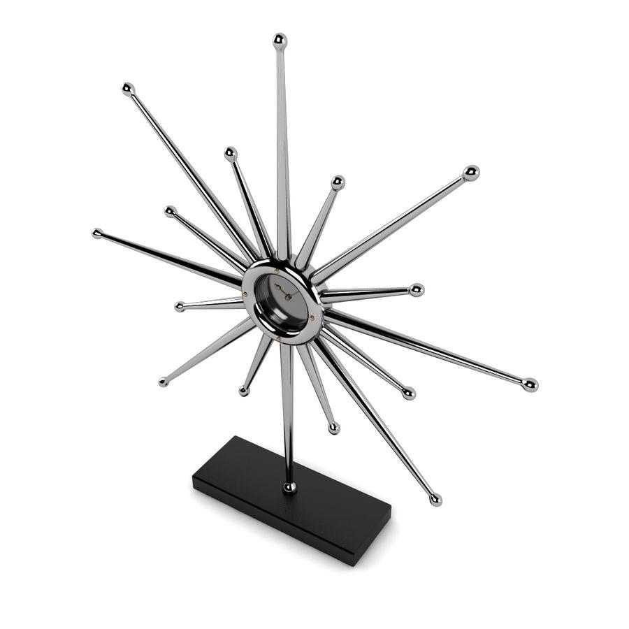 Reloj de escritorio estrella royalty-free modelo 3d - Preview no. 2