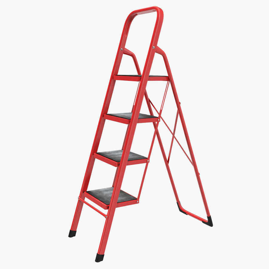 Step Ladder 3D模型 royalty-free 3d model - Preview no. 1