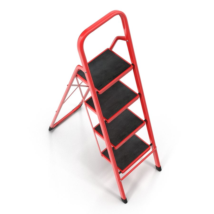 Step Ladder 3D模型 royalty-free 3d model - Preview no. 7