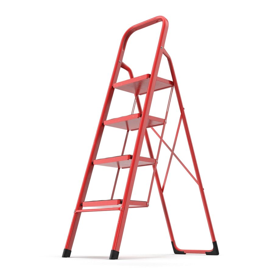 Step Ladder 3D模型 royalty-free 3d model - Preview no. 4