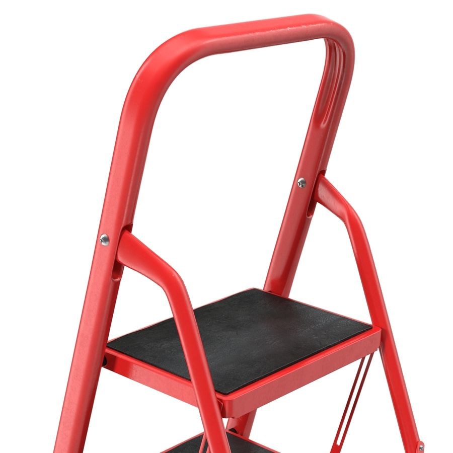 Step Ladder 3D模型 royalty-free 3d model - Preview no. 9