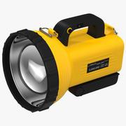 Spotlight Flashlight 3D模型 3d model