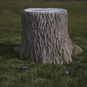stump 3d model