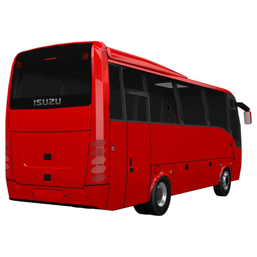 Isuzu Turkuaz royalty-free 3d model - Preview no. 4
