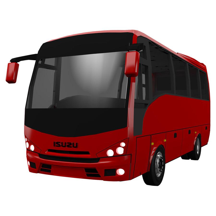 Isuzu Turkuaz royalty-free 3d model - Preview no. 1
