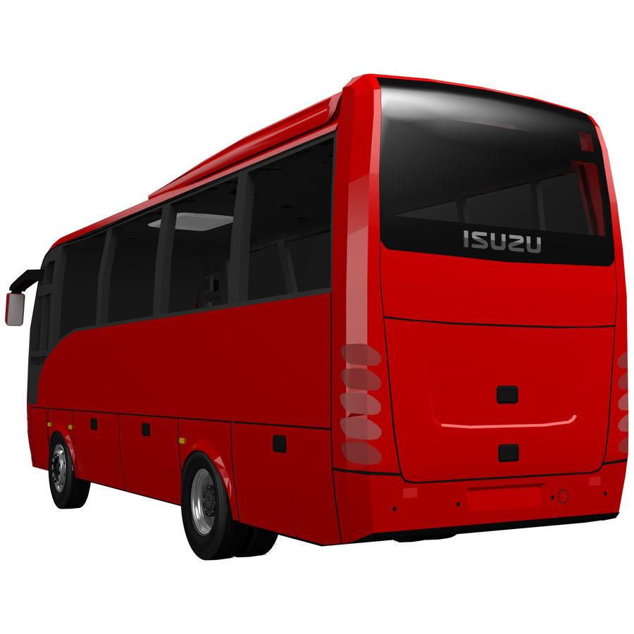 Isuzu Turkuaz royalty-free 3d model - Preview no. 6